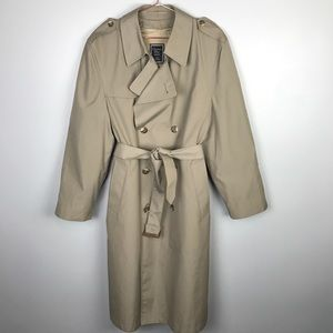 Christian Dior Monsieur Vintage Trench Coat 40R